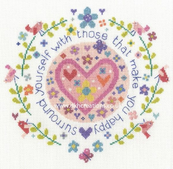 Those Who Make You Happy Cross Stitch Kit